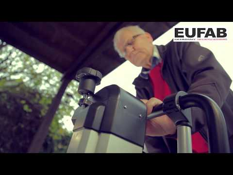 EUFAB – Fahrradträger Bike Lift mit Liftsystem