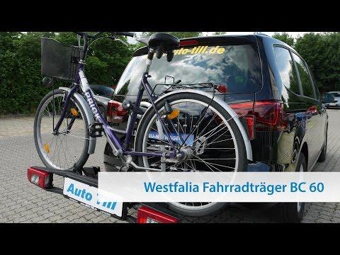 Westfalia Fahrradtraeger BC 60 - Montage & Bedienung