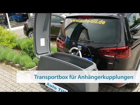 Transportbox für Westfalia Fahrradträger BC 60 - Montage & Bedienung