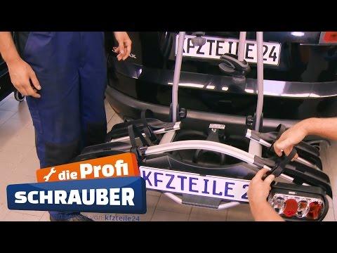 Fahrradträger an Anhängerkupplung montieren - THULE [TUTORIAL]